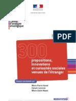 300 propositions, innovations et curiosités sociales venues de l'étranger