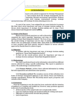Report on Importance of Strategic Decision Making and Its Steps in IBBL
