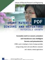 Factsheet - Smart Materials for Sensors and Actuators - 140510