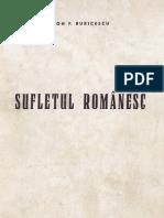 Sufletul Romanesc - Ion F. Buricescu - 1944
