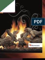 Vented Gas Logs MOM9508
