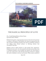 The Radical Principle of Love