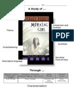 Morning Girl Unit Plan