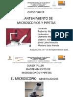 1curso Mantenimiento de Micros y Pipetas