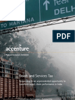 Accenture Goods and Service Tax
