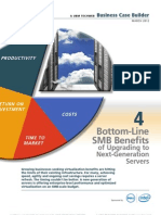 4 Bottom Line SMB Benefits of Upgrading to Next Generation Servers