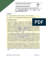 DETERMINACIÓN DE CARBOXIHEMOGLOBINA EN SANGRE POR COLORIMETRIA