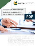 Curso universitario de especialización en asesoría de empresas