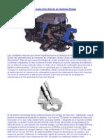 La nueva inyección directa en motores Diesel