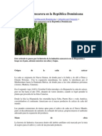 La Industria azucarera en la República Dominicana