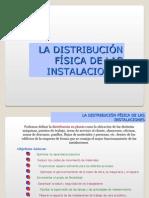 Distribucion de Instalaciones