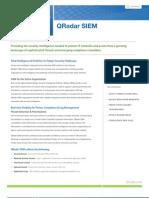QRadar SIEM 7.0 Data Sheet