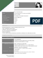Curriculum Vitae Diana Novo - Português