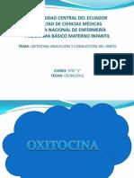 OXITOCINA TERMINADO
