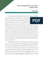 Najate Dialmy - Ecriture Et Photographie Dans Le Roi Des Aulnes de Michel Tournier
