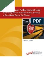 Our Immense Achievement Gap WEB