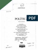 ARISTOTELES POLITICA