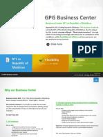 Presentation GPG BUSINESS CENTER