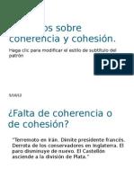 Prácticas de coherencia y cohesión