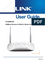 Td-w8961nd v2 User Guide