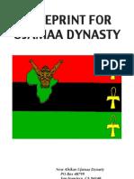 Blueprint for Ujamaa Dynasty