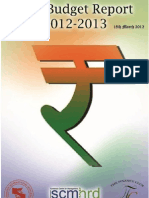 Post Budget Report 2012-13