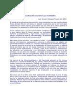 Alteracion Documental y Sus Modal Ida Des
