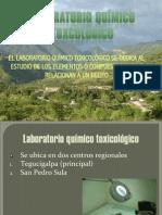Presentación Laboratorio Quimico Toxicologico para curso de induccion