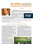 Newsletter Maio 2012