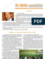 Newsletter Maio 2012