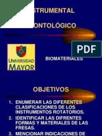 1Clase Biomateriales Instrumental Rotatorio