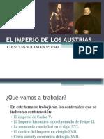 Tema 10 El Imperio de Los Austrias