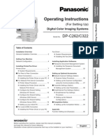 Owners Manual DP-C322 C262 SettingUp