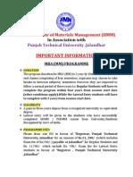 PTU Sor Details