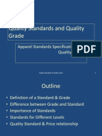 Quality Standards and Quality Grade
