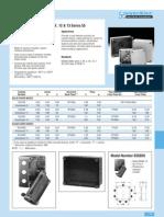 Vynckier-FRP NEMA Rating 3, 3R, 4, 4X, 12 & 13 Series 55
