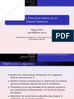 Diseño y estructura interna de un SO