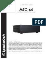 Mzc64 Quick Start Guide