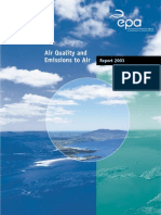EPA Air Quality Report 2003