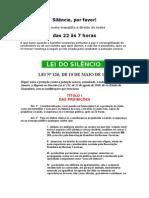 Lei do Silêncio