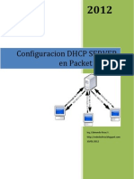 Configuracion Servidor DHCP