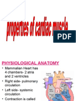 Properties of Cardiac Muscle and Conducting Systems