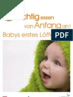 Folder-richtig Essen Von Anfang an-babys Erstes Loeffelchen De