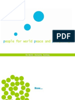 People for World Peace and Prosperity