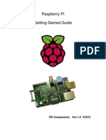 Raspberry Pi Starter Guide