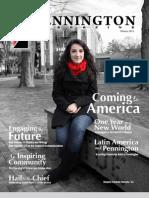 Pennington Magazine, Winter 2011