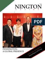 Pennington Magazine, Fall 2011