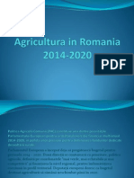 Agricultura in Romania 2014-2020 IOANA