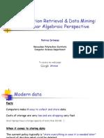 Information Retrieval & Data Mining