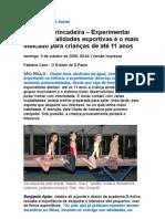 Atividade Física Para Crianças e Saúde - Medicina Preventiva - Esportes - Bons hábitos